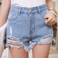 Shorts Jeans Vintage — Paradise Store