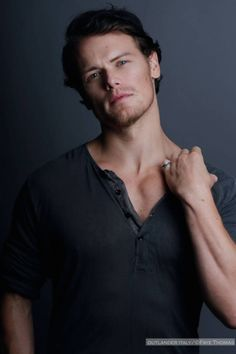 Sam Heughan, Scottish actor, currently playing Jamie Fraser in Starz' Outlander series.