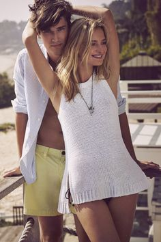 Summer Relationship Goals. // Abercrombie & Fitch Summer Getaway