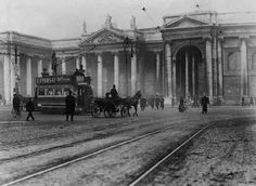 years gone by. Dublin Street, Dublin City, Old Pictures, Old Photos, Vintage Photos, Combat Medic, Past Life, Dublin Ireland, Irish