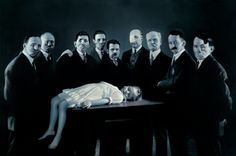 Epiphany III (Presentation at the Temple)  Gottfried Helnwein. 1998