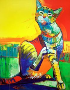 Jeff Ham-cat of many colors This is the pining person, I love cats!