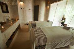 Beautiful spa room f