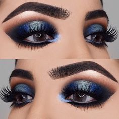 "270 Likes, 5 Comments - SigmaBeauty.com (@sigmabeauty) on Instagram: ""Blending goals! @shivangi.11 used all #SigmaBrushes for this icy-blue look. ❄️ // #SigmaBeauty"""