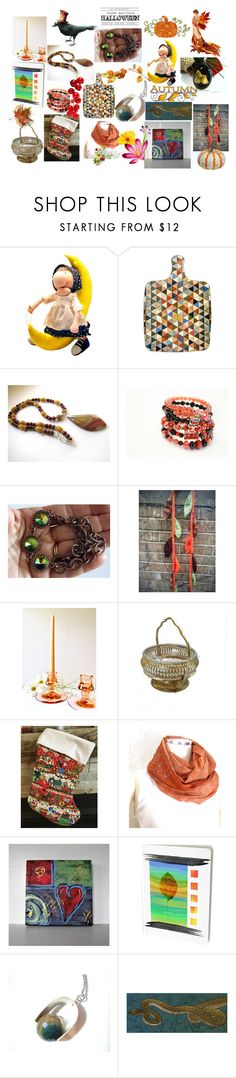 """""""Fall Festival"""" by anna-recycle ❤ liked on Polyvore featuring modern, rustic and vintage"""