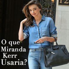 O que Miranda Kerr Usaria? #MirandaKerr #model #looks