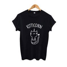 T-shirt Chat Licorne Kitticorn