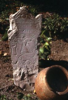 Signe de Tanit, stèle du tophet , de Carthage