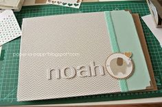 paper-la-papp - Stampin up! Demo in NRW!: Noah`s Babyalbum
