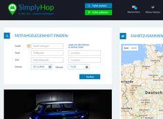 Spontan Beifahrer finden und dabei Leute kennen lernen. Diese sympatische Alternative nennt sich SimplyHop. Hippe Jungs aus Dresden hatten die Idee...