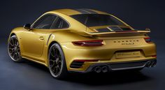 Porsche911 Turbo S Exclusive Series, 2017. A new limited edition of 500 cars which are the most powerful version of the 911 Turbo S ever produced, with 607 HP.