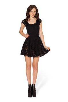 (No less than $70) Size XL Evil Cheerleader Lace Dress 2.0 | Black Milk Clothing