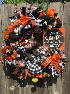 #witch #pumpkin #pumpkins #holidaze #holidazedecor #buffalocheck #plaid #halloween #halloweensign #halloweenwreath #candycorn #bows #halloweenribbons #trickortreat #candy #witchwreath #velvetpumpkins #fall #fallwreath #fallflowers #blackcat #witchboots #primitive #buffalocheckpumpkin #burlap #set #homedecor #decorations #seasonal #october #halloweendecorations #trickortreat  #wreathsforsale #madebyholidaze
