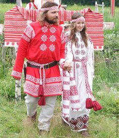 Slavic couple