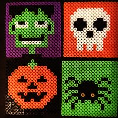 Halloween coasters hama beads by kfrdx                                                                                                                                                                                 More