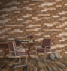 Small Tiles | LONDON | Glazed Porcelain, 6x25 cm, Matt #egeseramik #perfectbeauty  #ceramic  #tiles #design #homedesign #smalltiles Outdoor Spaces, Outdoor Chairs, Outdoor Furniture, Outdoor Decor, Brick Look Tile, Small Tiles, Living Area, Design Trends