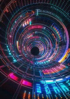 fattun// Art Print by FvckRender - X-Small Art Cyberpunk, Cool Backgrounds Wallpapers, Neon Led, Wallpaper Animes, Digital Art Gallery, Technology Wallpaper, Neon Aesthetic, Futuristic Art, Light Art