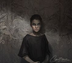 "Eeee! ""The Bone Carver, as Feyre saw him"" by Charlie Bowater."