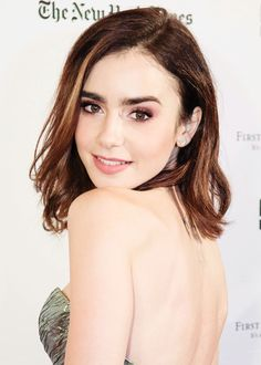 Lily Collins attends 'Rules Don't Apply' premiere at Castro Theatre in San Francisco, CA on November 21, 2016.