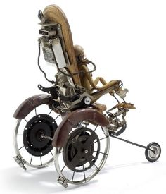 Steampunk chair that would look great in dollhouse miniature scale