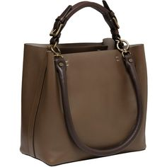Marni Large Leather Bag ($686) ❤ liked on Polyvore featuring bags, handbags, shoulder bags, purses, bolsas, bolsos, borse, women, purse shoulder bag and leather hand bags