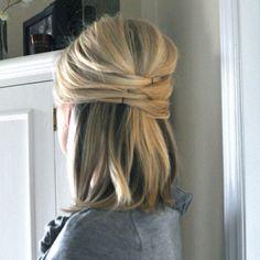 Bridesmaids hair!