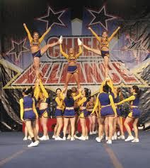 My cheer team should totally do this stunt!!