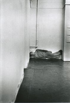 Bruce McLean 'Levitation Piece', 1971
