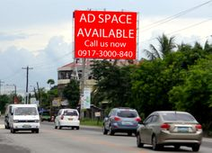 Advertise  Better than ever with Steel Art Billboards. Get this Ad Space Now! Contact Us at (0917)3000- 840 or Check out our website at www.steelart.ph