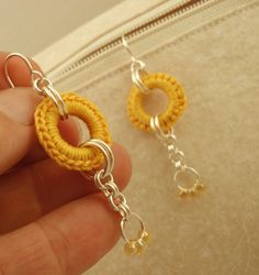 Really want to get some of these crocheted rings from UnkamenSupplies.etsy.com to make some really cool jewelry!