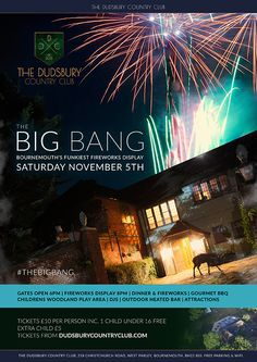 The Big Bang – Bonfire Night at DCC