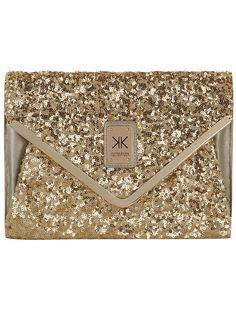 Kardashian gold sequin clutch  #DPKK