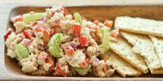 Whole Kids Foundation - Honey Mustard Salmon Salad #SaladBarNation