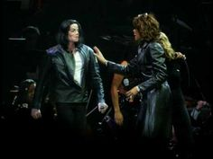 Michael Jackson & Whitney Houston Duet - Rock With Somebody