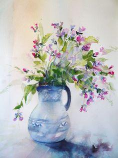 Bourrache en bouquet