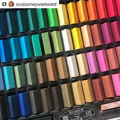 with ・・・ Guess what we're working on today, With a new set of chalk pastels to boot! Chalk Pastels, On Today, Art Tutorials, Eyeshadow, Instagram Posts, Beautiful, Eye Shadow, Eyeshadow Looks, Eye Shadows