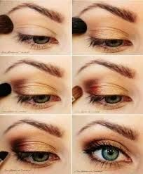 Image result for copper eyeshadow looks