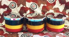 Soy Wax Candles, Candle Wax, Flag Colors, Colours, Aboriginal Flag