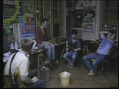 The Smiths backstage (before the encore) at Markthalle, Hamburg, Germany on May 4,1984 ― a video via cellardoorfive's  YouTube channel.