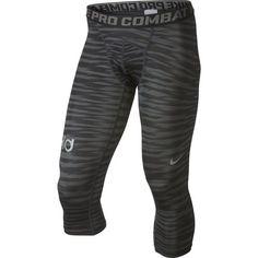 Nike Men's Pro Combat Compression 3/4 Basketball Tight