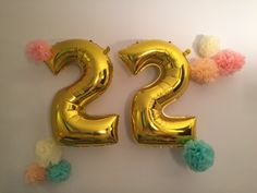 Party ballooned Happy Birthday To Me Quotes, Happy Birthday Cards, Birthday Greetings, Birthday Wishes, Birthday Balloon Decorations, Happy Birthday Balloons, 22 Birthday, Birthday Celebration, Birthday Girl Pictures