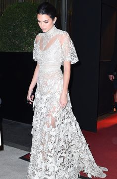 If Kendall Jenner Were Getting Married, This Is What Her Wedding Dress Would Look Like