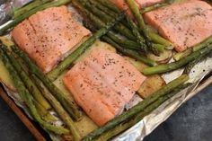 Recipe: Baked steelhead trout with asparagus, potatoes and herbs