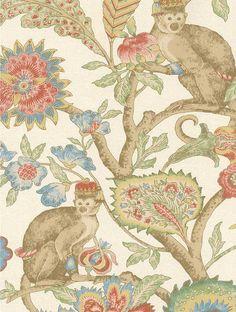wallpaper >> monkey bathroom possibilities