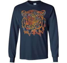 Attractive Fearless Tiger 2017 T Shirt