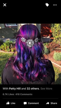 Fun Hair Color!                                                       …