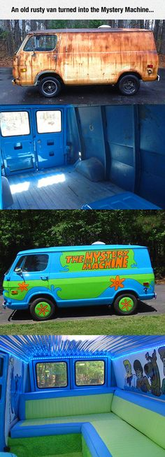 Funny pictures about From Old And Rusty To Awesome. Oh, and cool pics about From Old And Rusty To Awesome. Also, From Old And Rusty To Awesome photos. Combi Vw, Funny Memes, Jokes, Funniest Memes, Supercars, Childhood Memories, Cool Cars, Dream Cars, Funny Pictures