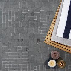 "Ivy Hill Tile Countryside Interlocking 1"" x 2"" Natural Stone Mosaic Tile | Wayfair"