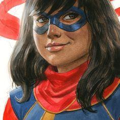 Ms. Marvel Kamala Khan - Paolo Rivera