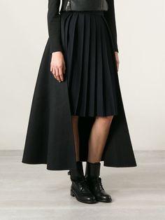 Yang Li Pleated Panel Skirt